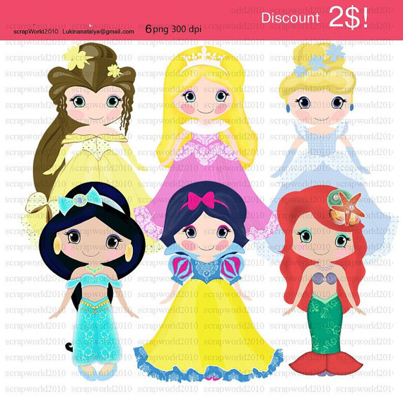 Invitation  Princess   Prince Clip Art Clipart For Commercial Use