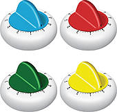 Kitchen Timer Clip Art Eps Images  693 Kitchen Timer Clipart Vector