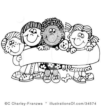 Preschool Black And White Clipart - Clipart Suggest