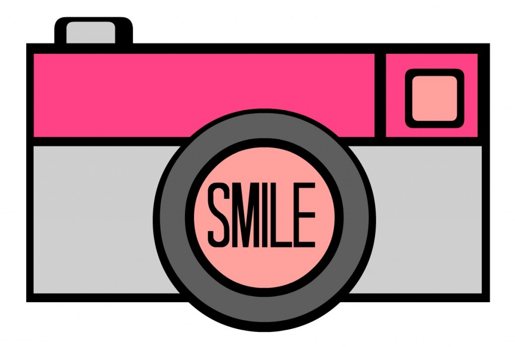 Smile for the Camera Clip Art
