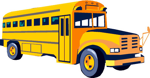 School Bus Side View Flat Front   Clipart Panda   Free Clipart Images