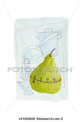 Stock Illustration   Kitchen Timer  Fotosearch   Search Eps Clip Art