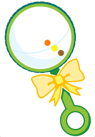 Baby Rattle Clipart - Clipart Suggest