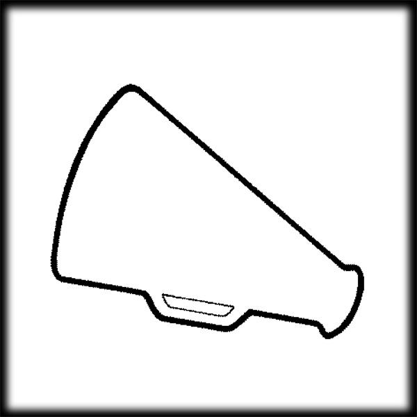 Cheer Megaphone Clip Art