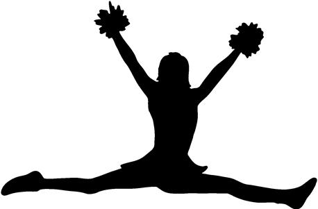 Clip Art Pom Poms Clipart pom clipart kid cheerleading megaphone and poms cheerleader with poms