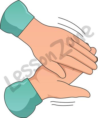 Female Clapping Hands Clipart - Clipart Kid