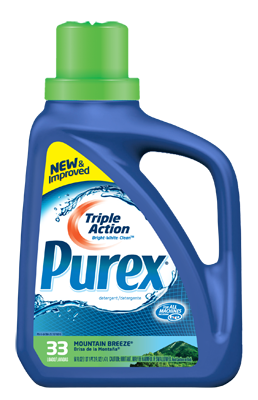 Hearts Mom  Product Review And Giveaway  Purex Triple Action Detergent