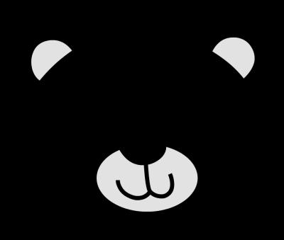 Polar Bear Face Clipart - Clipart Kid