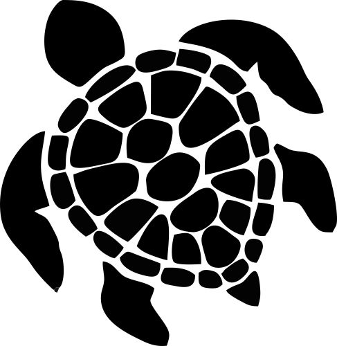 Turtle Silhouette Clipart - Clipart Kid