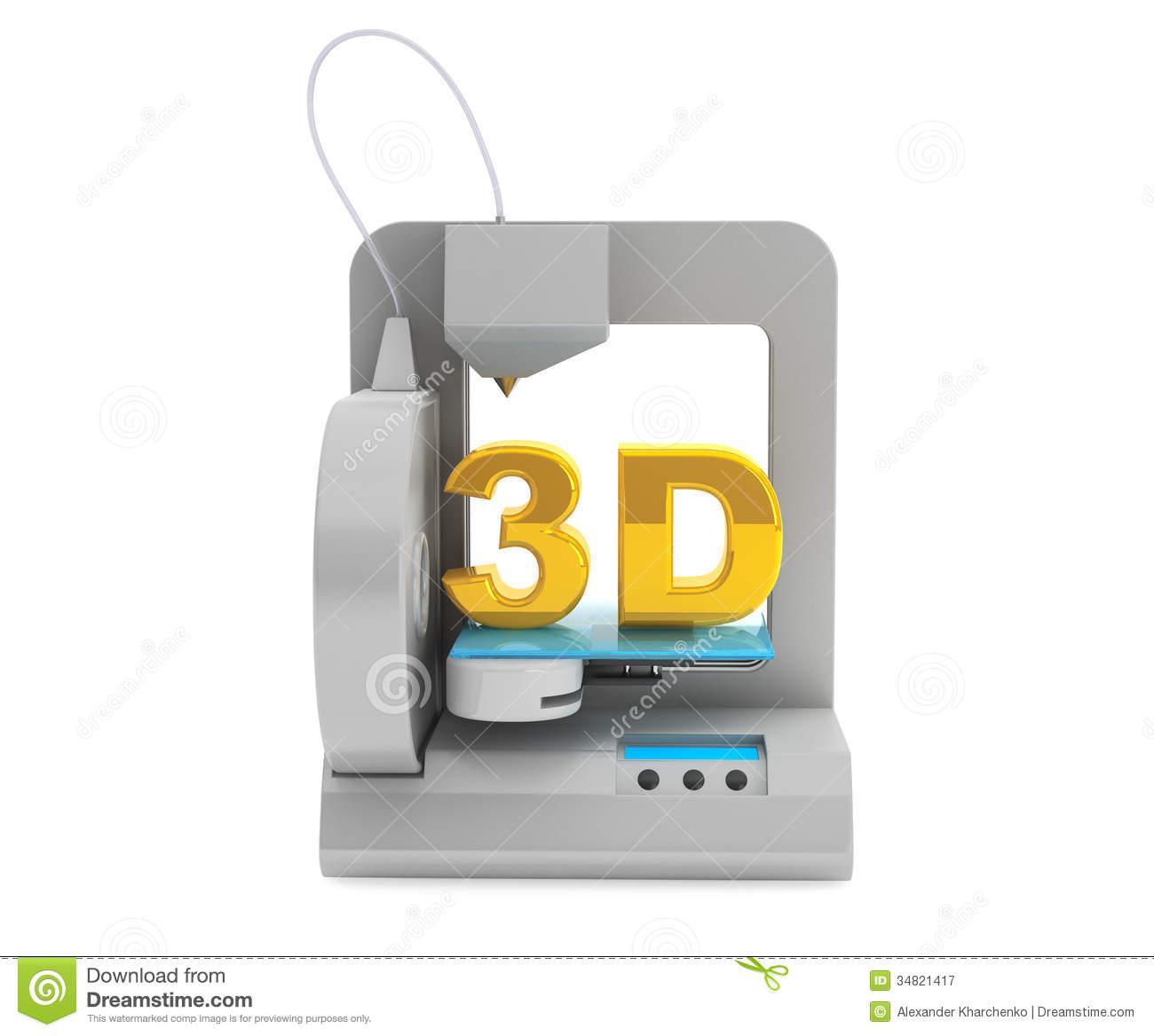 Clip Art 3d Printer Clipart - Clipart Kid