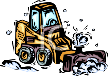 0511 1004 1717 4454 Cartoon Snow Plow  Clipart Image Jpg
