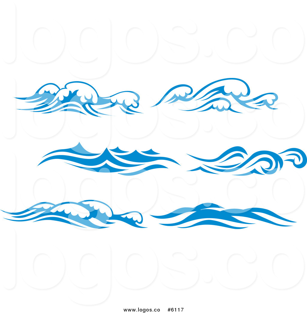 Wave Black And White Clipart - Clipart Kid