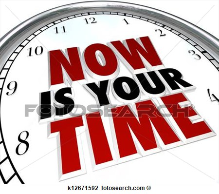Clip Art Of Now Is Your Time To Shine Clock Recognition You Deserve