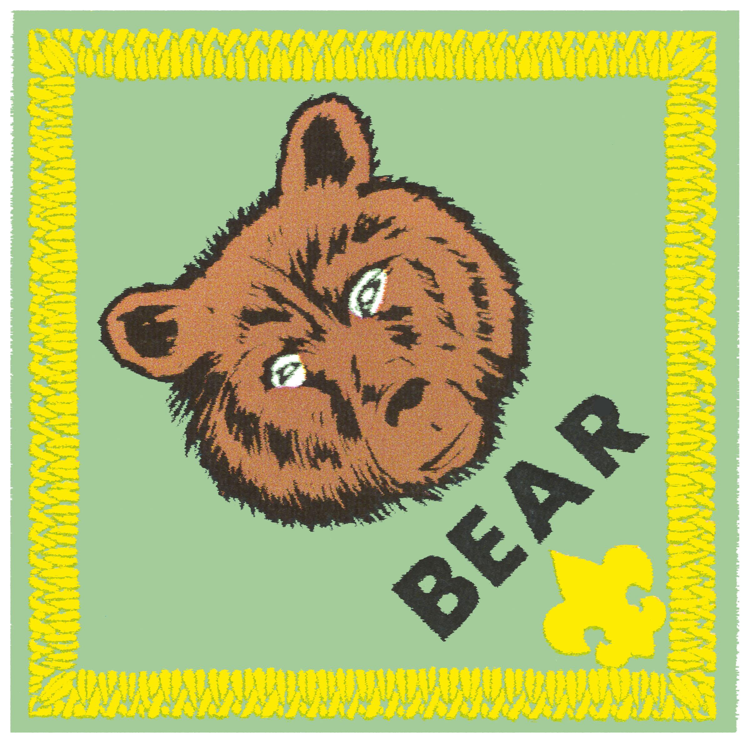 Cub Scout Bear   Cub Scouts    Pinterest