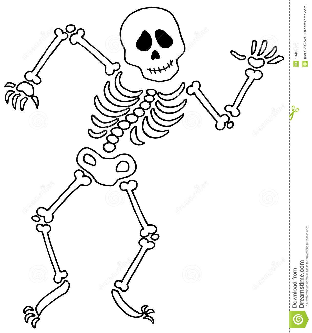Skeleton Clip Art Images Stock Photos Amp Clipart