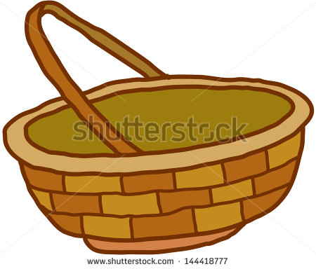 Empty Gift Basket Clipart - Clipart Kid