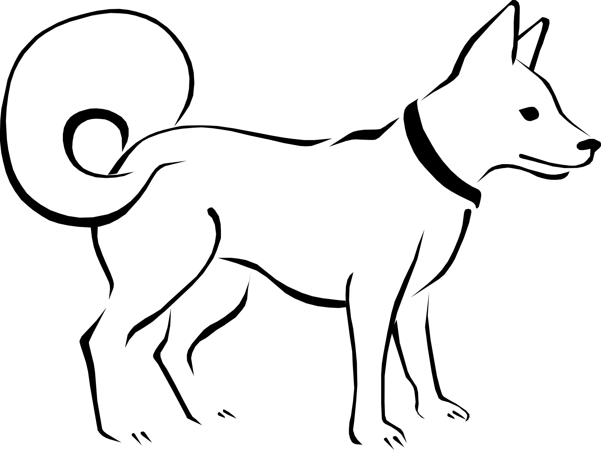 Flip Flops Clipart Black And White Black And White Dogs Clipart