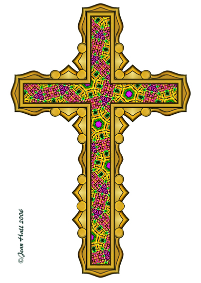 Happy Easter Cross Clipart - Clipart Kid