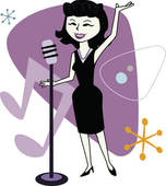 Jazz Singer Illustrations And Clipart  1057 Jazz Singer Royalty
