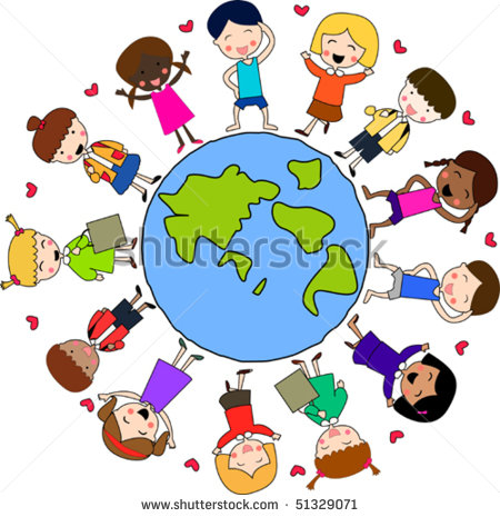 Multicultural Clipart - Clipart Kid