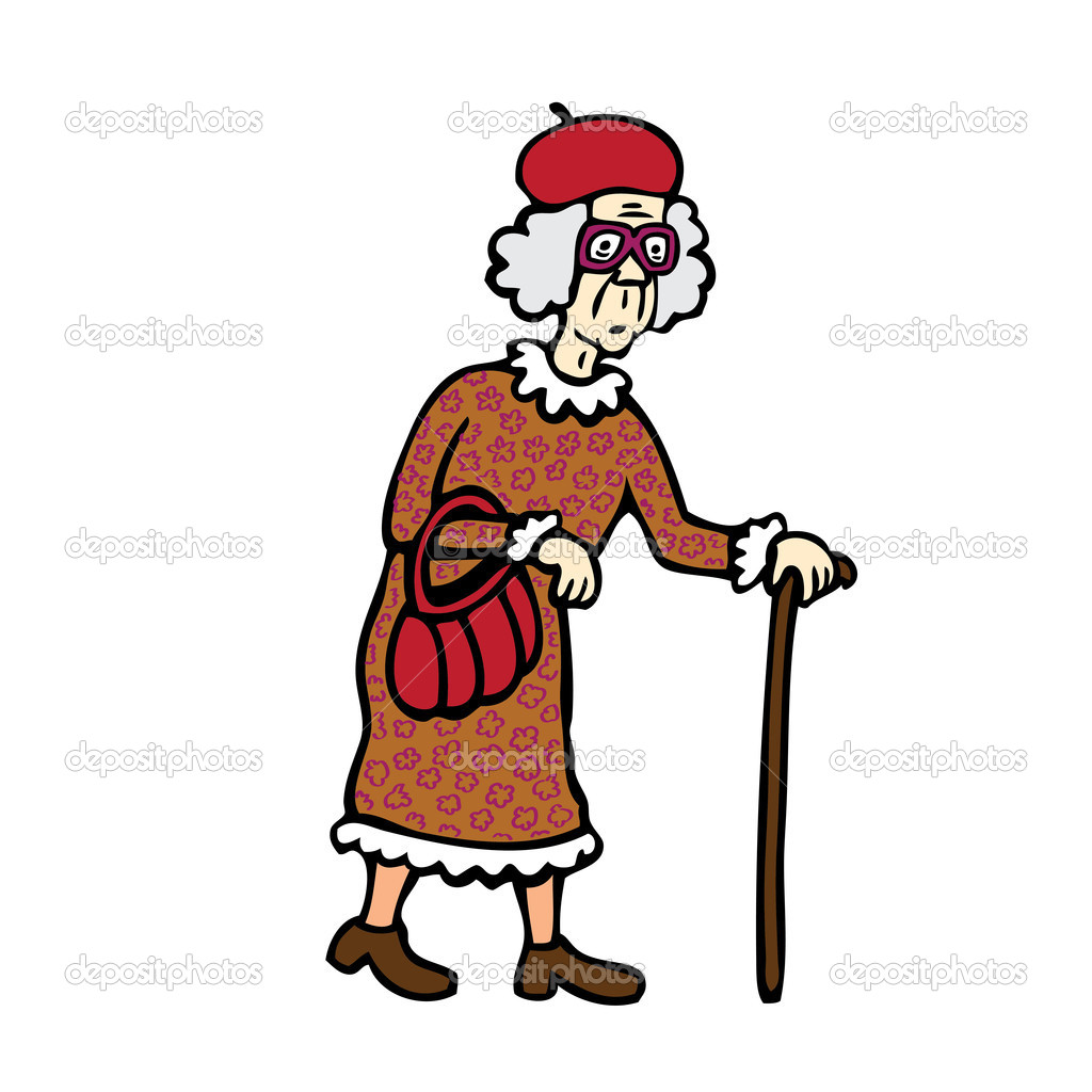 Old Lady   Stock Vector   Dukepope  11591952