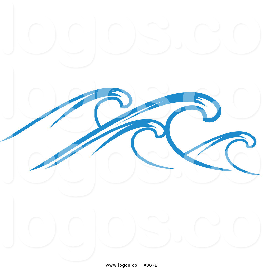 Royalty Free Ocean Wave Logo By Seamartini Graphics    3672