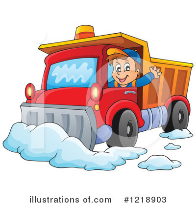 Royalty Free  Rf  Snow Plow Clipart Illustration By Visekart   Stock