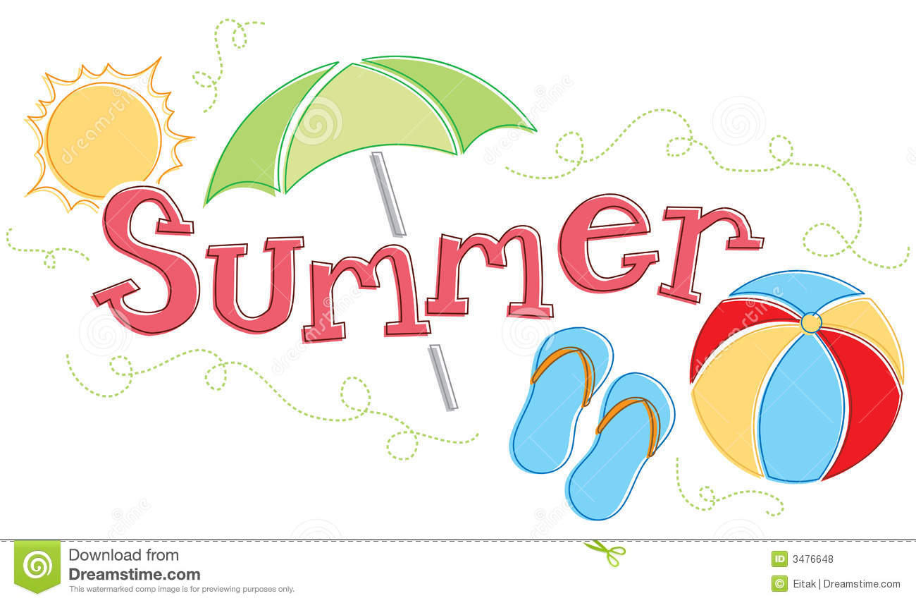 Seasonal Summer Graphic Royalty Free Stock Photos   Image  3476648