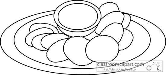Chips Clipart Black And White Chips Clip Art