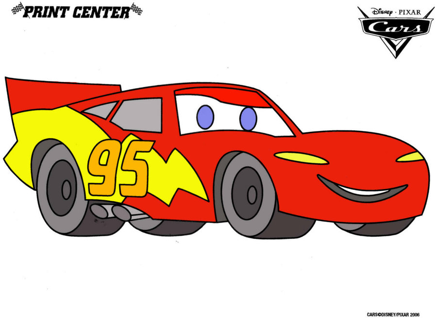 clipart flash mcqueen - photo #24