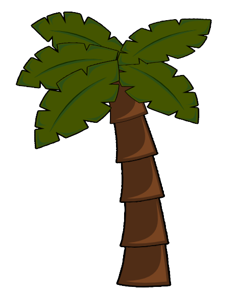 Palm Tree Clip Art At Clker Com   Vector Clip Art Online Royalty Free