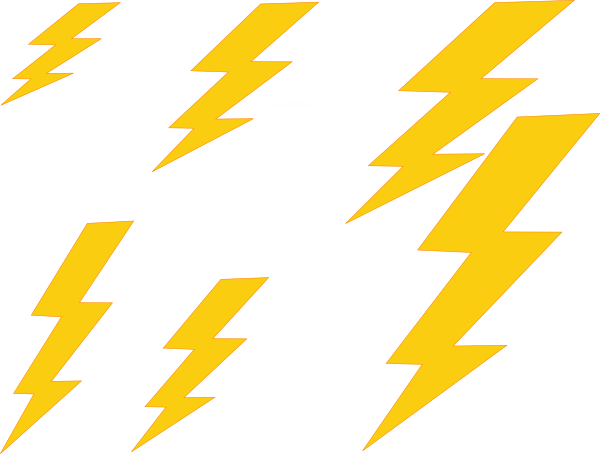 Back   Gallery For   Thunder Basketball Lightning Bolt Clip Art