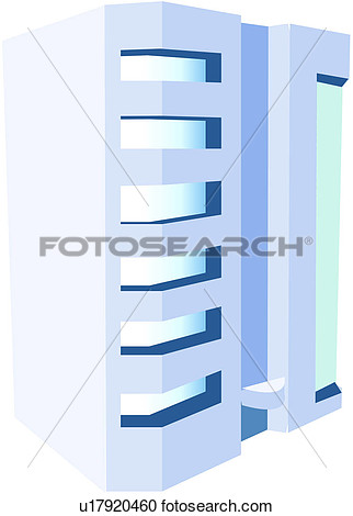 Block Of Flats Apartment Building Icon  Fotosearch   Search Clip Art