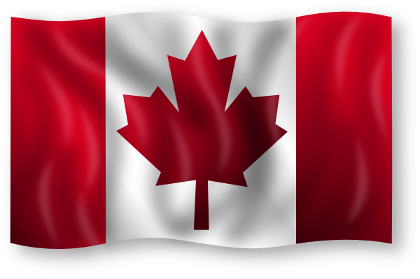 Canadian Flag Clip Art At Clker Com   Vector Clip Art Online Royalty