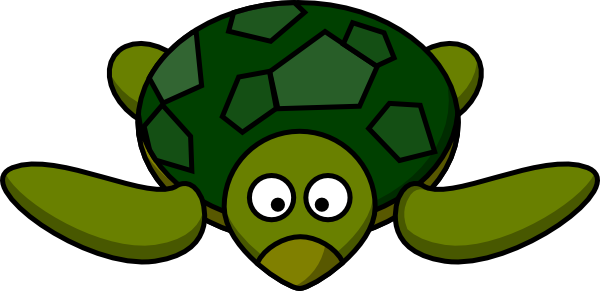Cartoon Turtle Clip Art At Clker Com   Vector Clip Art Online Royalty