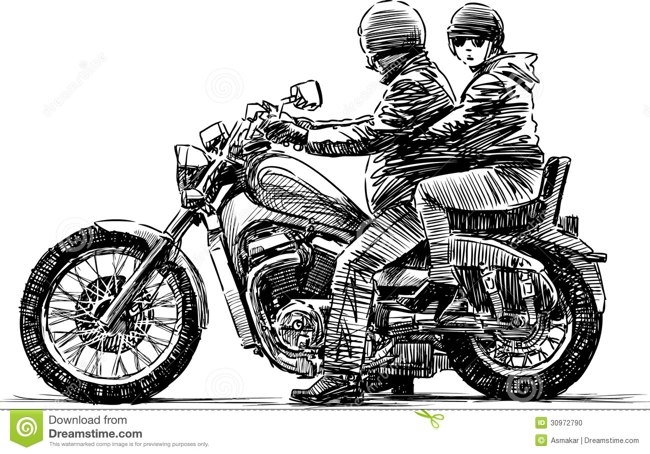 Displaying 20  Images For   Motorcycle Rider Vector