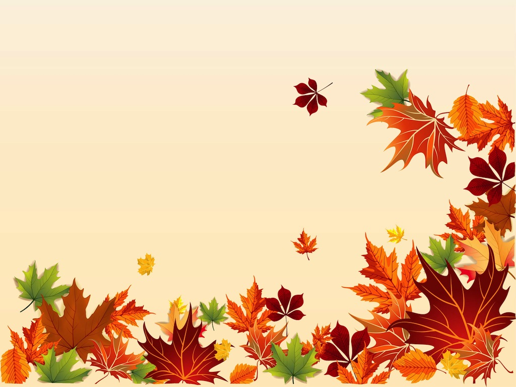 Fall Leaves Border   Item 1   Vector Magz   Free Download Vector