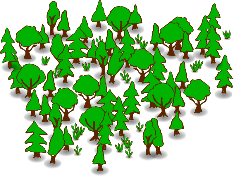 Forest Clip Art   Images   Free For Commercial Use