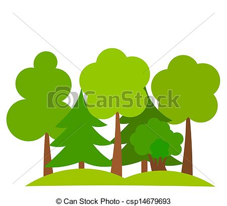 Forest Trees Drawing   Clipart Panda   Free Clipart Images