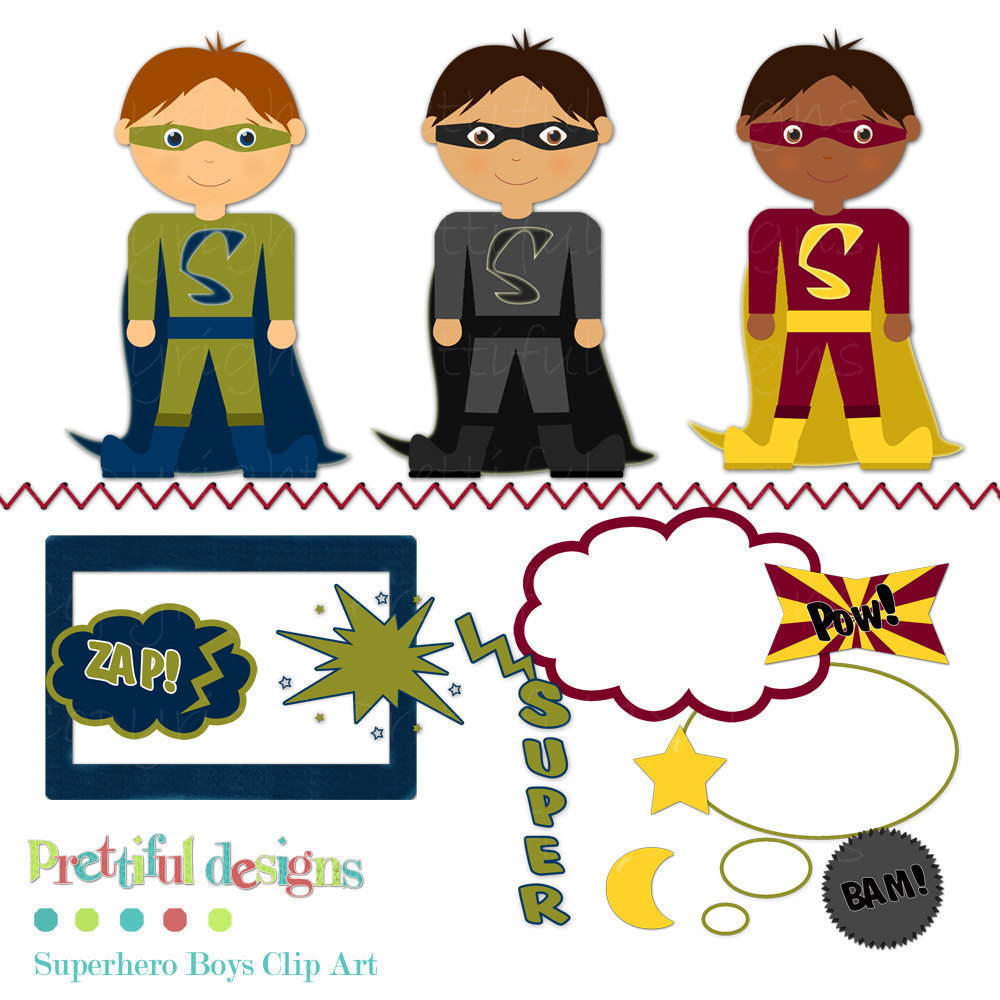 Superhero For Teachers Clipart - Clipart Kid
