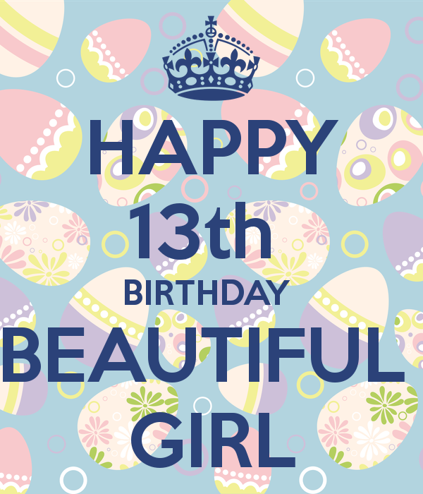 13th Birthday Girl Clipart - Clipart Kid