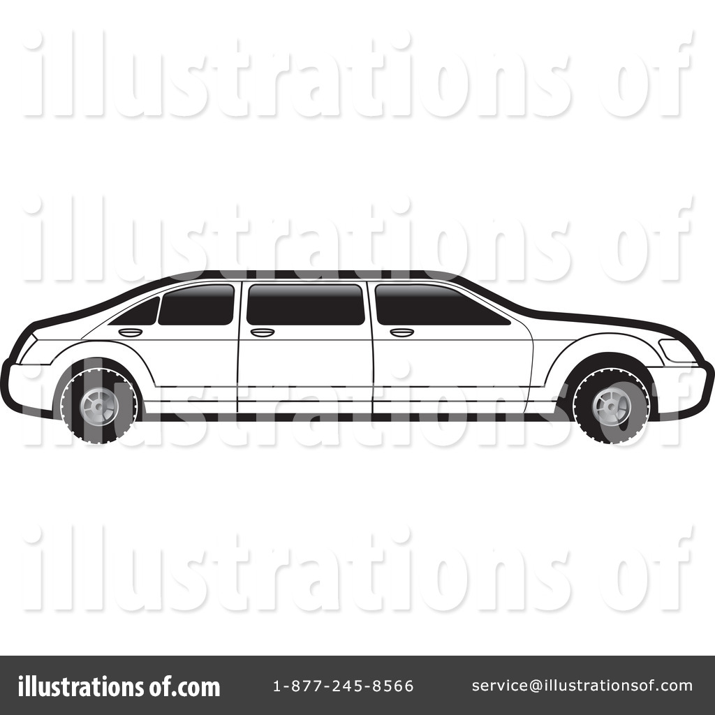 Limo Clipart  1100968   Illustration By Lal Perera