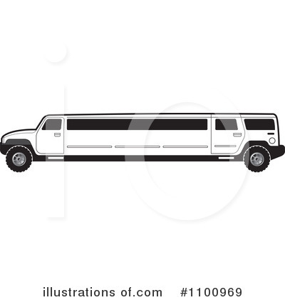 Limo Clipart  1100969   Illustration By Lal Perera