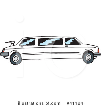Limo Clipart  41124   Illustration By Dennis Holmes Designs