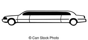 Limousine Illustrations And Clipart