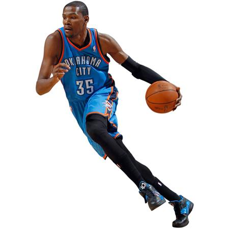 Oklahoma City Thunder   Kevin Durant   Fathead Wall Graphics