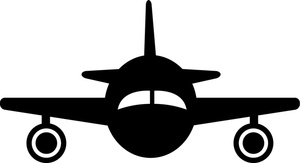 Plane Silhouette Clipart Image   Clip Art Silhouette Of A Jet Airplane