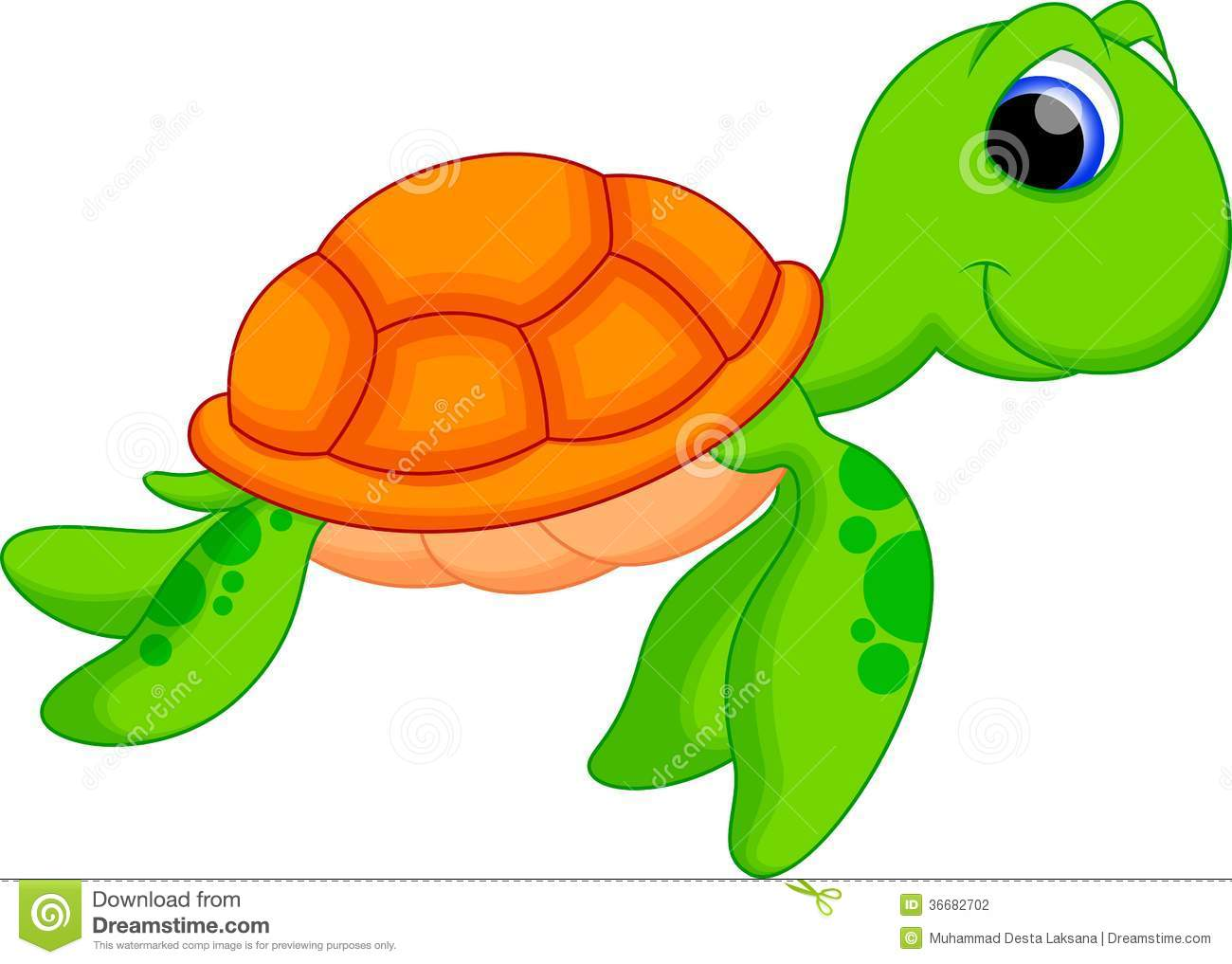Sea Turtle Cartoon Stock Photography   Image  36682702