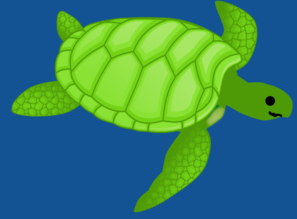 Sea Turtle Clip Art At Clker Com   Vector Clip Art Online Royalty