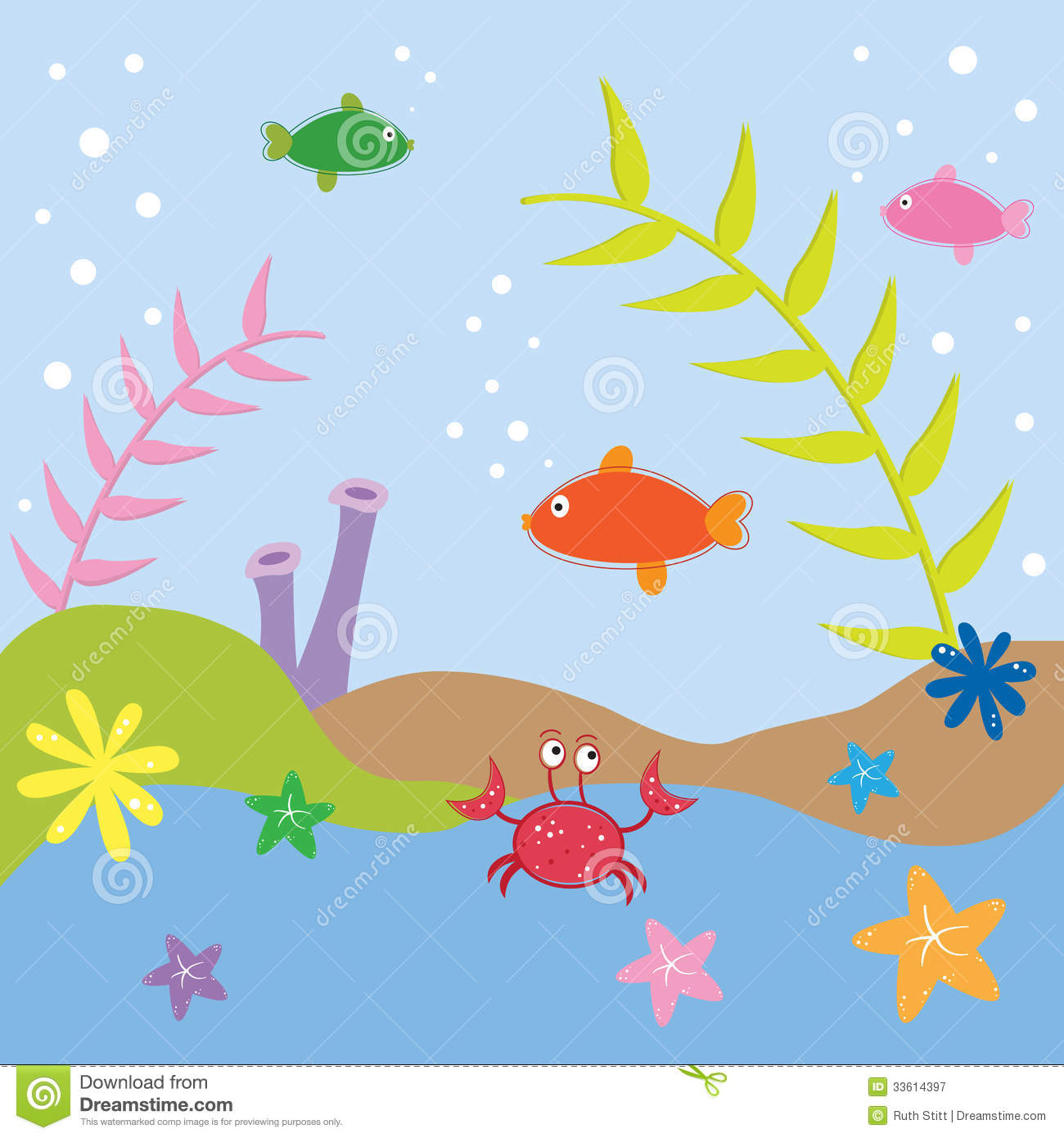 Under The Sea Ocean Fish